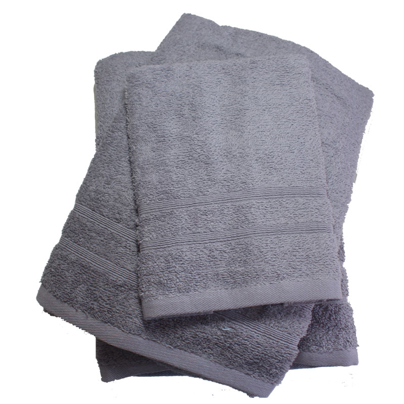 Σετ πετσέτες 3τμχ 400gr/m2 Bano Grey 24home – 24home.gr – bano-grey
