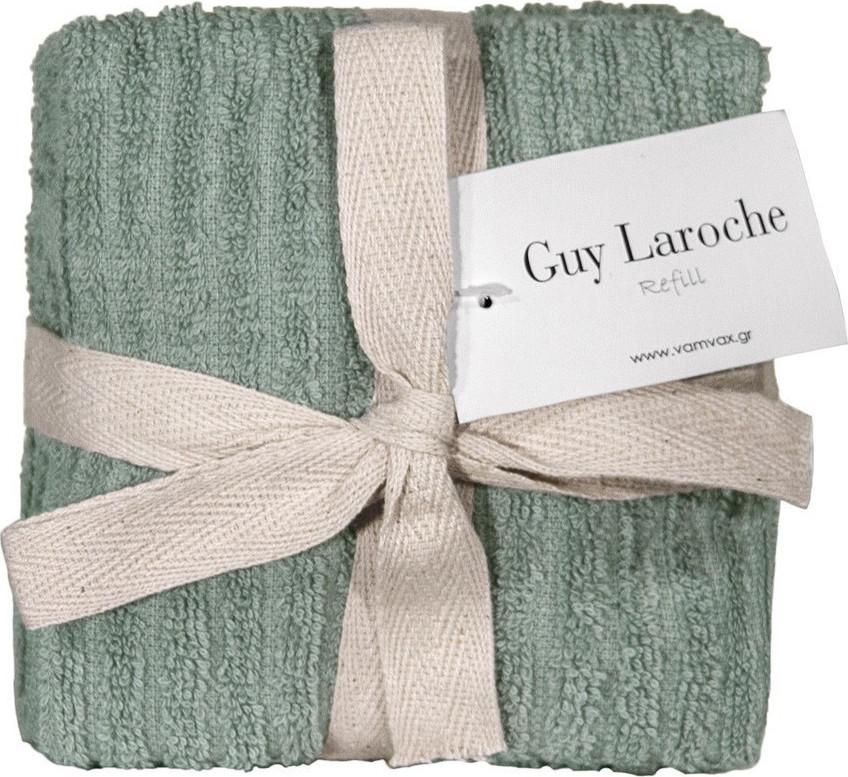 Σετ 6τμχ Λαβέτες 30×30εκ. Guy Laroche Guest Refill Verde – Guy Laroche – refill-verde