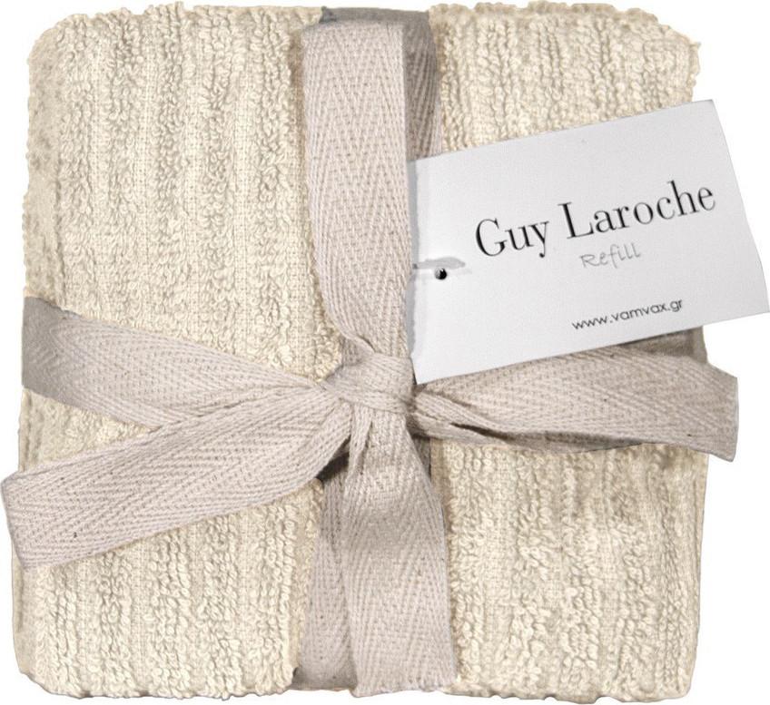 Σετ 6τμχ Λαβέτες 30×30εκ. Guy Laroche Guest Refill Cream – Guy Laroche – refill-cream