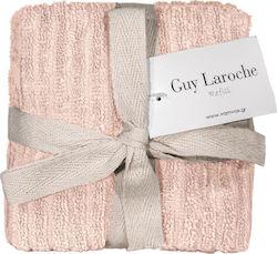 Σετ 6τμχ Λαβέτες 30×30εκ. Guy Laroche Guest Refill Old Pink – Guy Laroche – refill-old pink