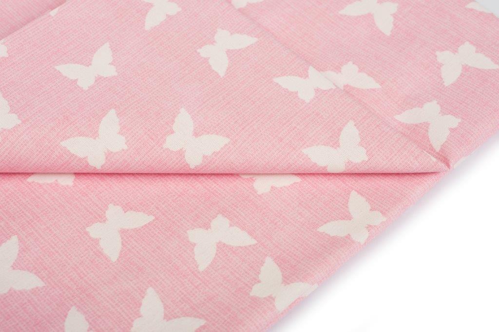 Σετ Σεντόνια Μονά 3τμχ Butterfly 50 Pink Dimcol – DimCol – 1924615207205079
