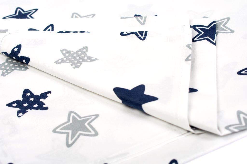 Σεντόνι Λίκνου Μεμονωμένο 80×110εκ. Star 102 Blue Dimcol. – DimCol – 1914413707310270