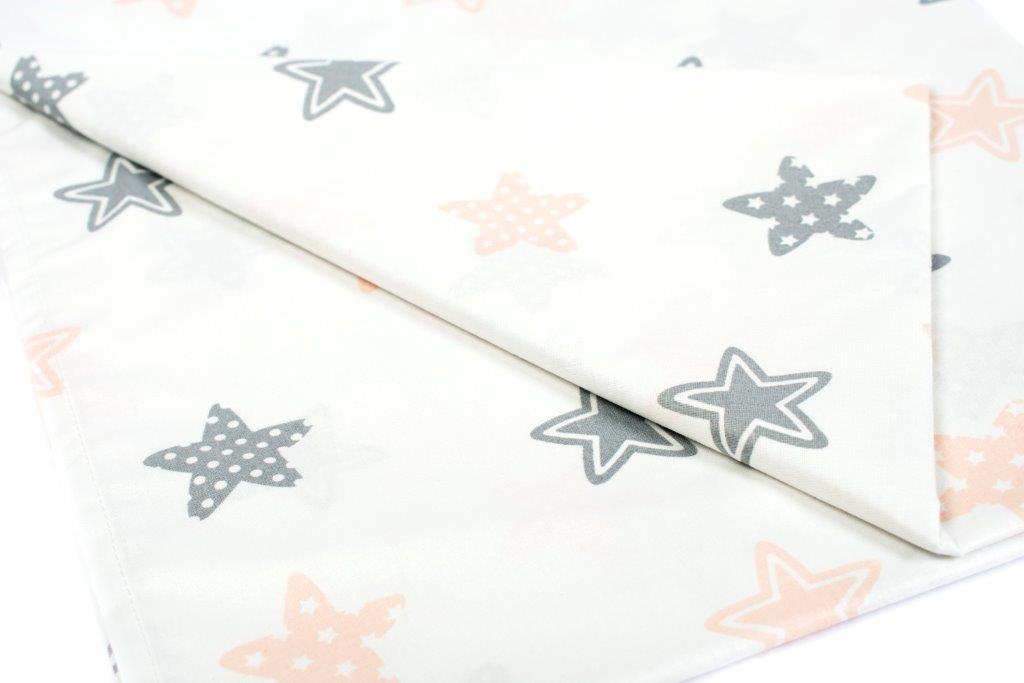 Σεντόνι Λίκνου Μεμονωμένο 80×110εκ. Star 103 Grey Dimcol. – DimCol – 1914413707310372