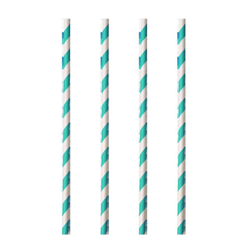 Σετ 20τμχ Καλαμάκια Χάρτινα 20εκ. Metaltex 16-253130 – METALTEX – 16-253130-aqua