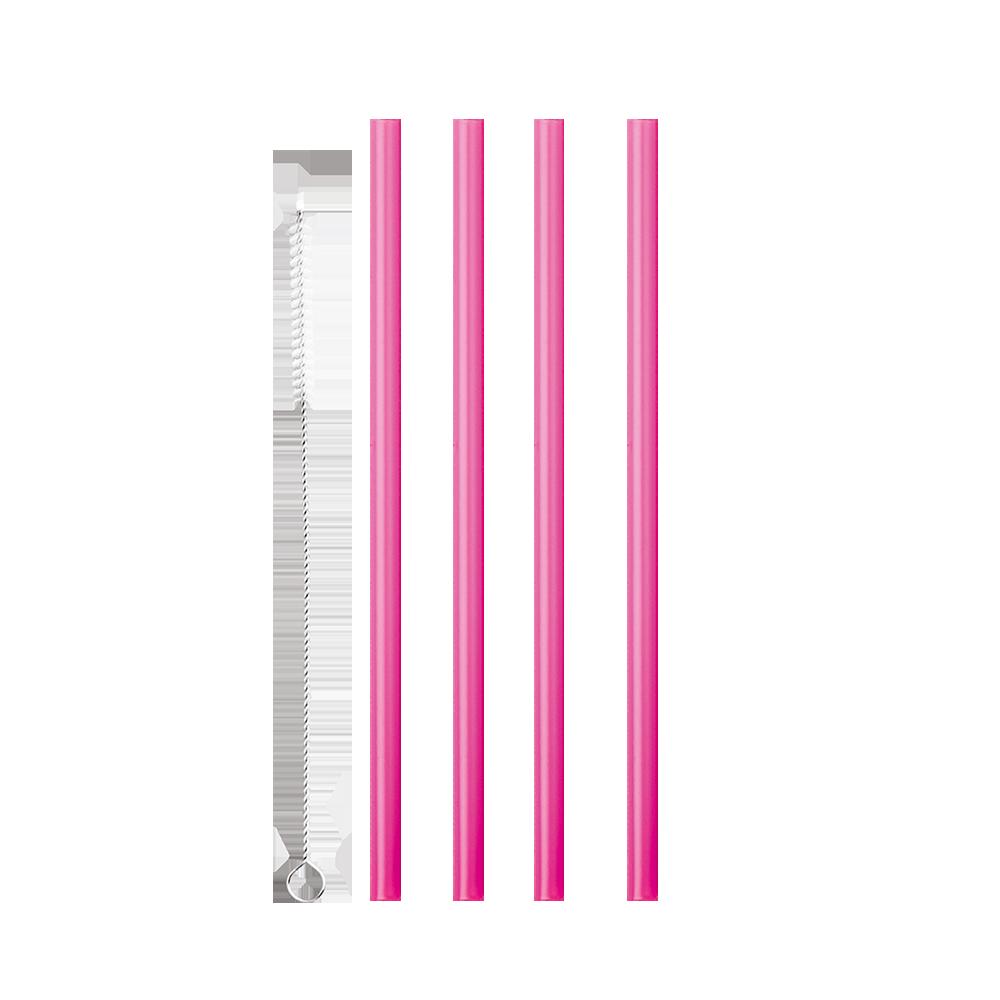 Σετ 12τμχ Καλαμάκια Πλαστικά 21εκ. Με Βουρτσάκι Καθαρισμού Metaltex 16-253135 – METALTEX – 16-253135