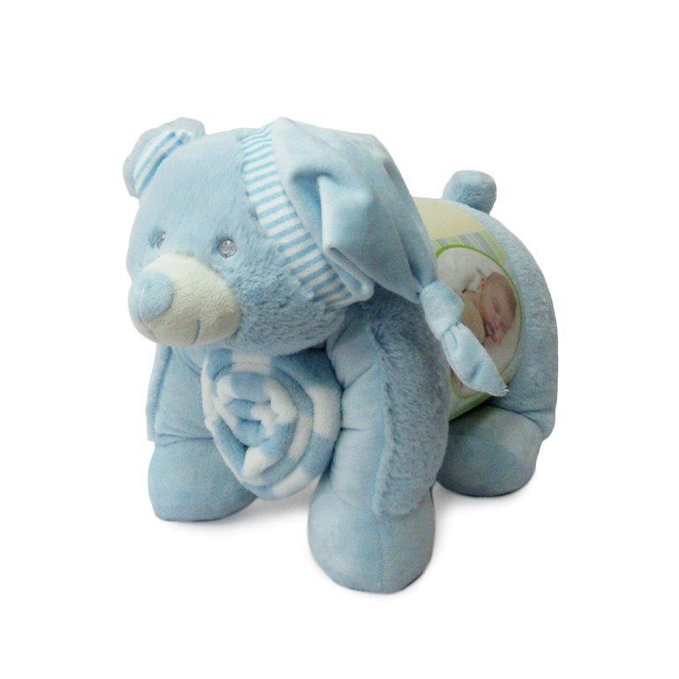 Σετ Κουβέρτα Bebe Και Ζωάκι 06 Σιέλ Dimcol (Ύφασμα: Fleece, Χρώμα: Γαλάζιο ) – DimCol – 1515427902400628