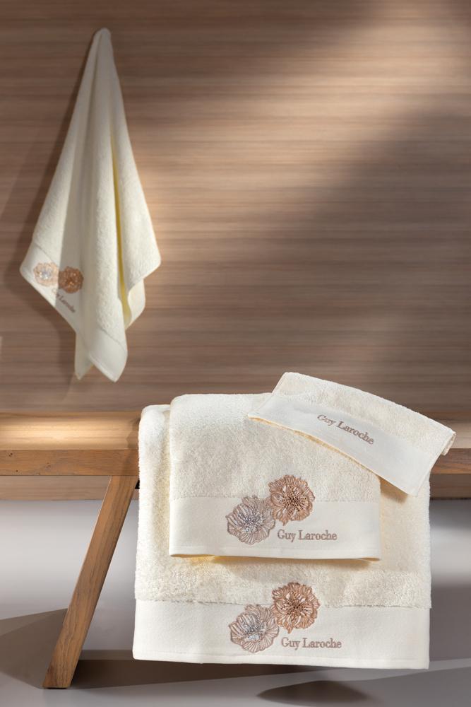 Πετσέτες Μπάνιου Σετ 3τμχ Bolero Ivory Guy Laroche – Guy Laroche – bolero-ivory