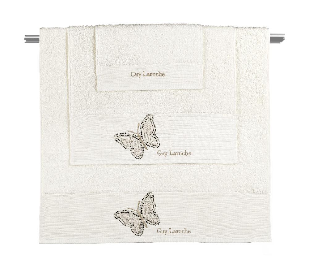 Πετσέτες Μπάνιου Σετ 3τμχ Primavera Ivory Guy Laroche – Guy Laroche – primavera-ivory