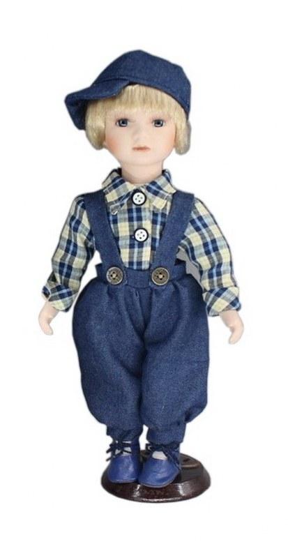 Κούκλα Πορσελάνινη Αγοράκι 31εκ. PAPSHOP KL02 – PAPADIMITRIOU INTERIOR PAPSHOP – KL02
