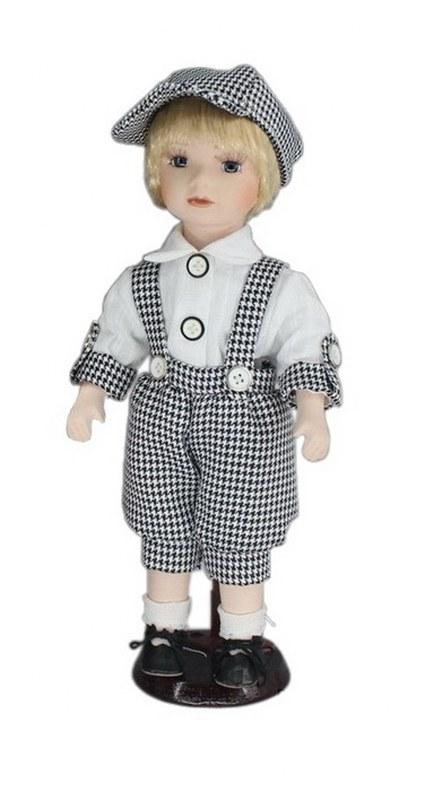 Κούκλα Πορσελάνινη Αγοράκι 31εκ. PAPSHOP KL04 – PAPADIMITRIOU INTERIOR PAPSHOP – KL04