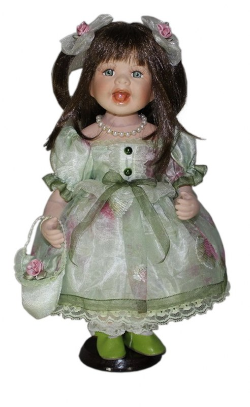 Κούκλα Πορσελάνινη Κοριτσάκι 33εκ. PAPSHOP KL10 – PAPADIMITRIOU INTERIOR PAPSHOP – KL10