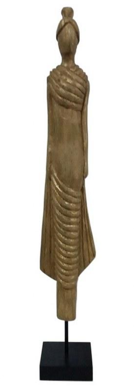 Άγαλμα Γυναικεία Φιγούρα Ξύλινη PAPSHOP FO09 – PAPADIMITRIOU INTERIOR PAPSHOP – FO09