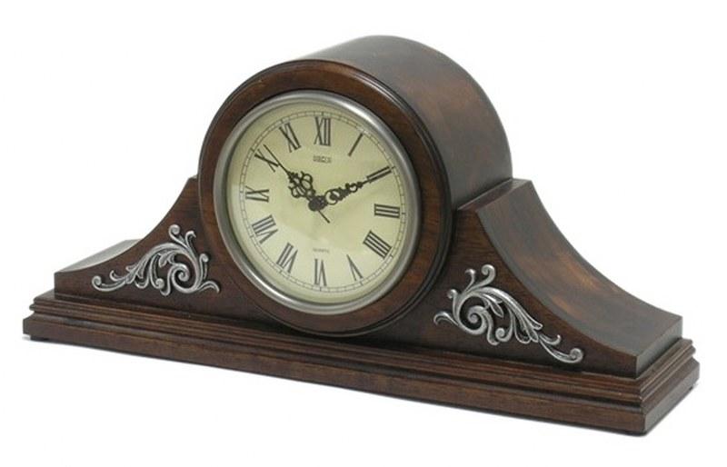 Ρολόι Επιτραπέζιο Ξύλινο PAPSHOP 41x9x19εκ. NT04 (Υλικό: Ξύλο, Χρώμα: Καφέ) - PAPADIMITRIOU INTERIOR PAPSHOP - NT04