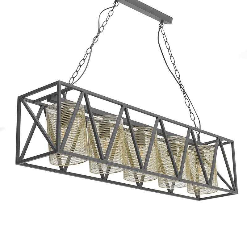 Φωτιστικό Οροφής Μεταλλικό 100x20x23εκ. inart 3-10-716-0068 – inart – 3-10-716-0068