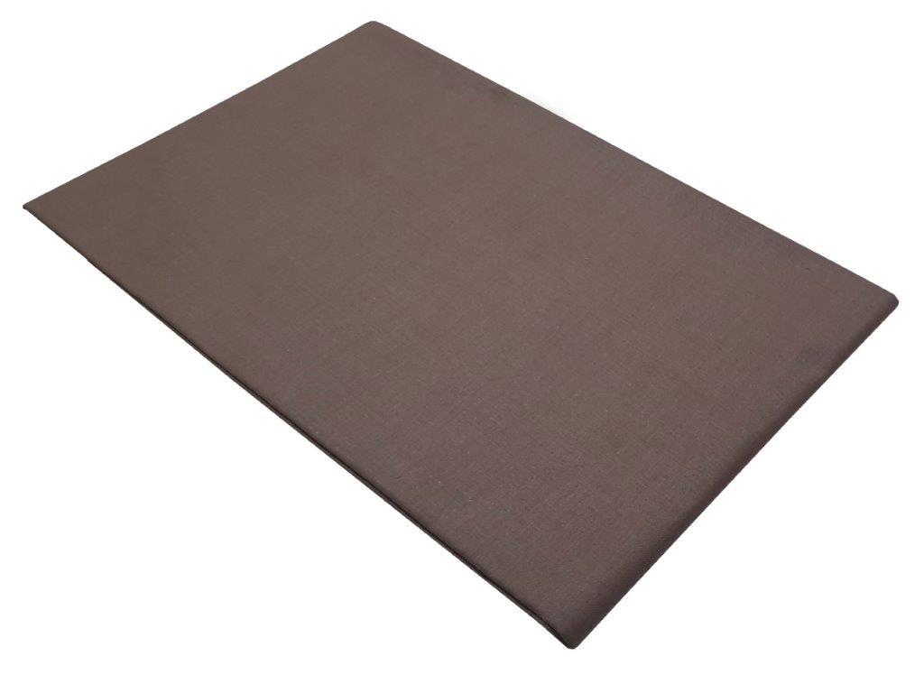 Σεντόνι Μονό Μεμονωμένο 150χ240εκ. Brown (Ύφασμα: 50%Cotton-50%Polyester, Χρώμα: Καφέ) – KOMVOS HOME – 7002171-26