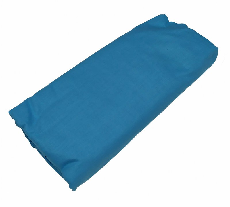 Σεντόνι Μονό Μεμονωμένο 150χ240εκ. Tyrqoise (Ύφασμα: 50%Cotton-50%Polyester, Χρώμα: Τυρκουάζ) – KOMVOS HOME – 7002171-28