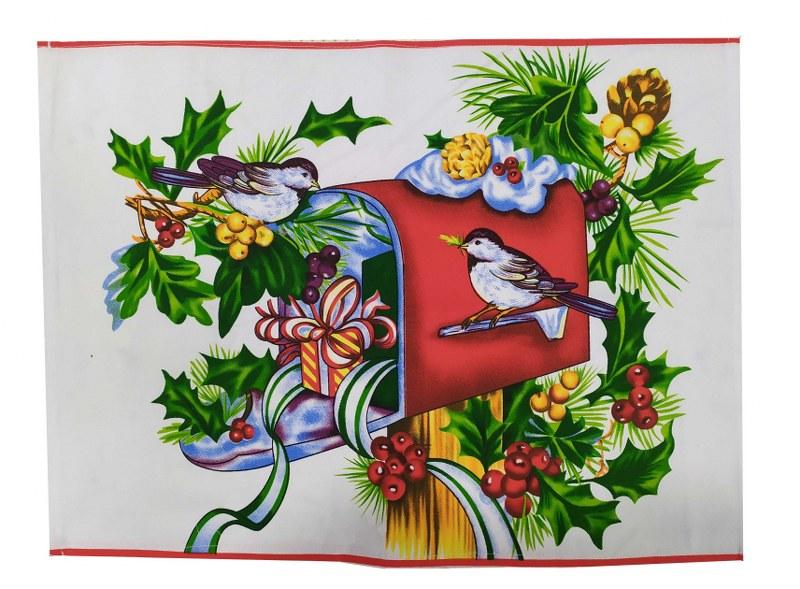 Σετ 4τμχ Σουπλά Υφασμάτινα Χριστουγεννιάτικα 39×45εκ. Gee – OEM – 7011142-2