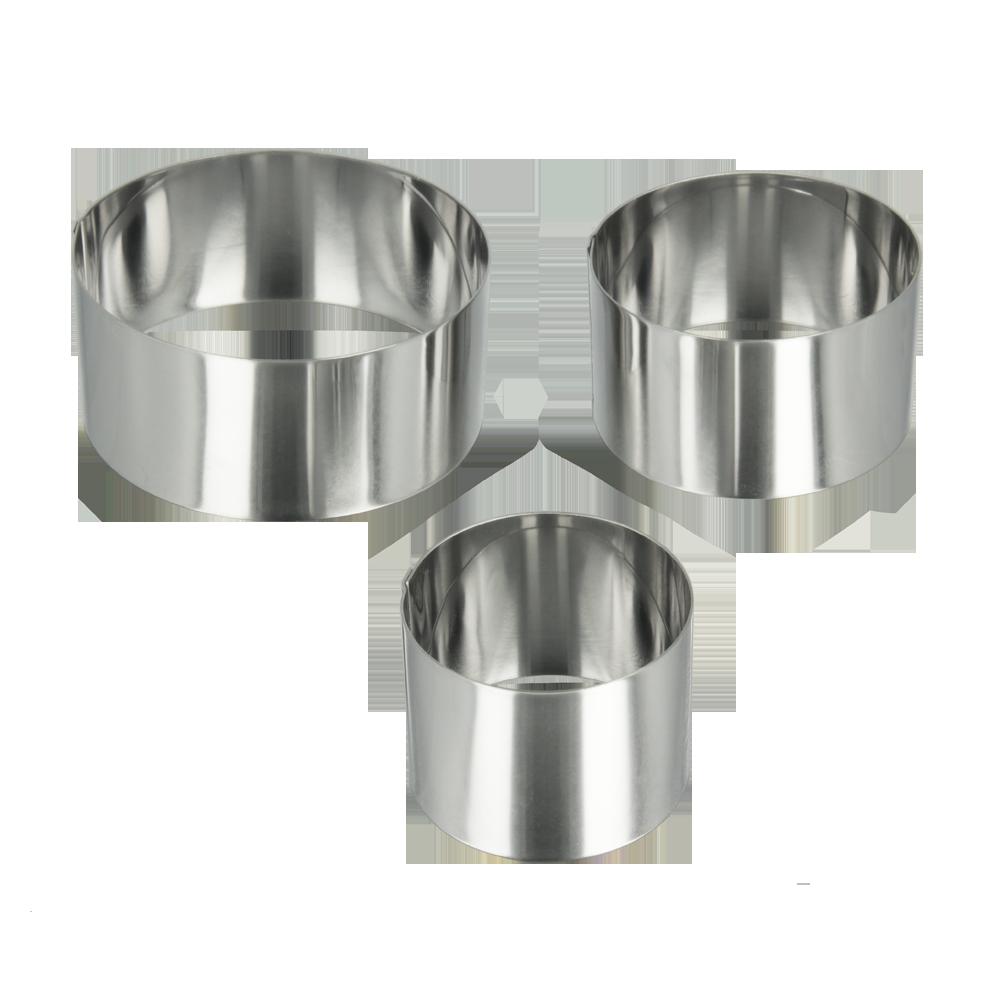 Σετ 3τμχ Δαχτυλίδια Φόρμας METALTEX 6εκ., 8εκ., 10εκ.16-204536 – METALTEX – 16-204536
