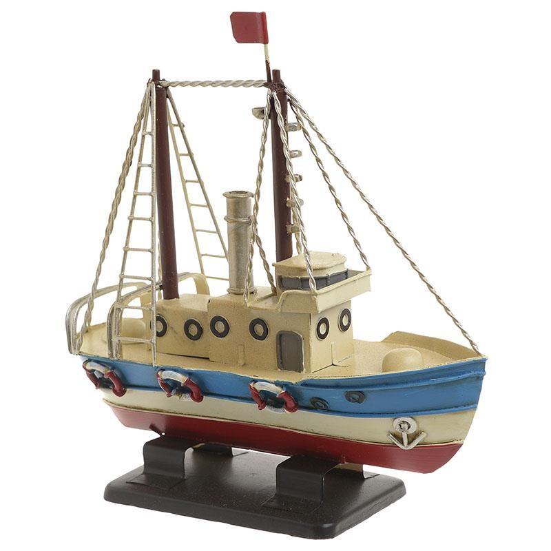 Καράβι Μεταλλικό 18×6,5×17,5εκ. inart 3-70-726-0264 – inart – 3-70-726-0264