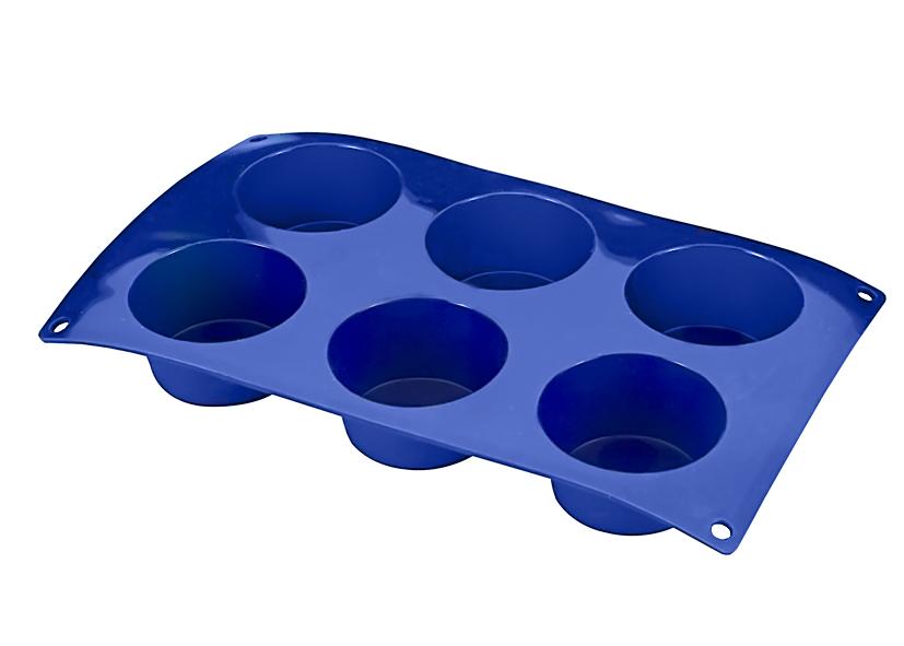 Φόρμα Σιλικόνης 6Θέσεων Muffins METALTEX 8εκ.16-222171 – METALTEX – 16-222171