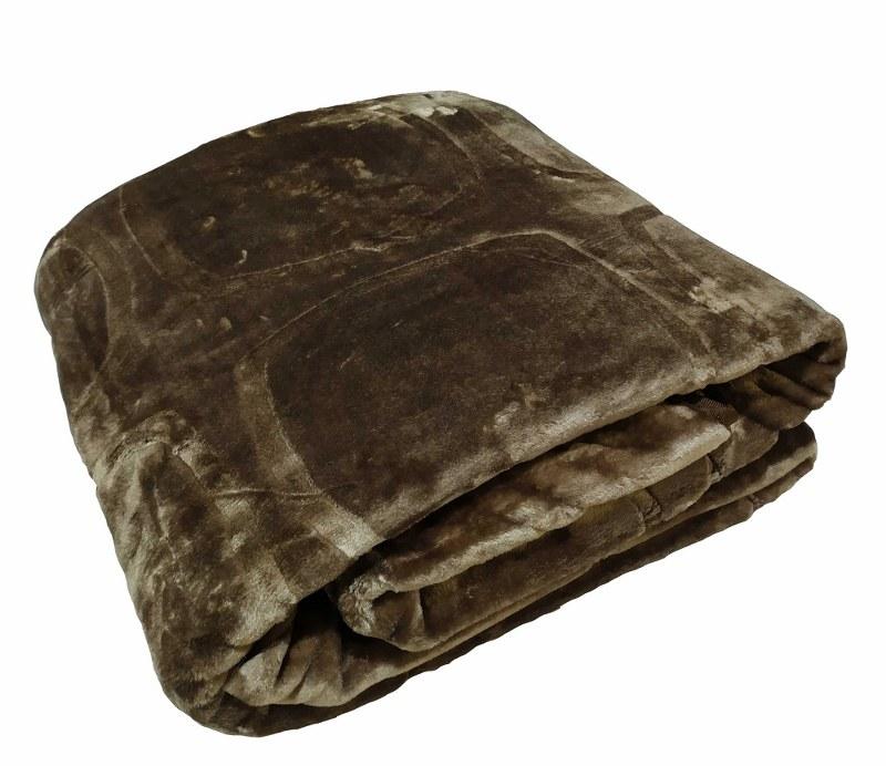 Κουβέρτα Υπέρδιπλη Βελουτέ 600gsm 220×240εκ. Metal – KOMVOS HOME – 7006207-12
