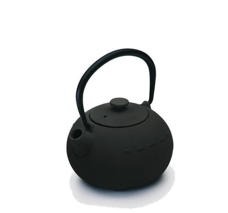 Τσαγιέρα Μαντεμένια 400ml Dinox 403100 (Υλικό: Μαντέμι, Χρώμα: Μαύρο) – Dinox – 8-403100