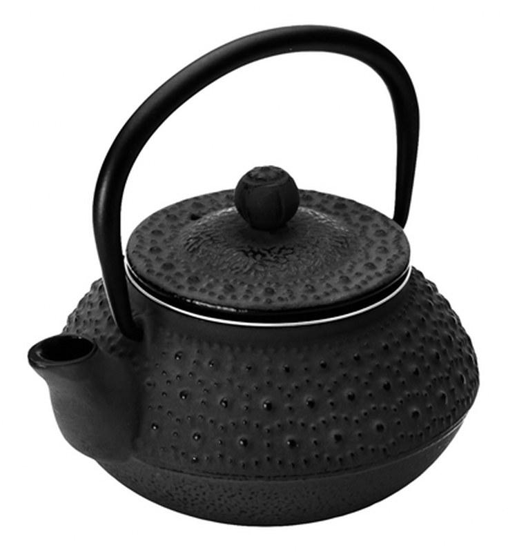 Τσαγιέρα Μαντεμένια 300ml Dinox 403712 (Υλικό: Μαντέμι, Χρώμα: Μαύρο) – Dinox – 8-403712