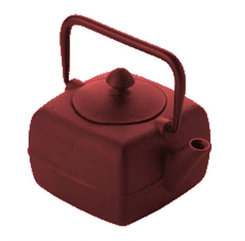 Τσαγιέρα Μαντεμένια 400ml Dinox 403743 (Υλικό: Μαντέμι, Χρώμα: Κόκκινο) – Dinox – 8-403743