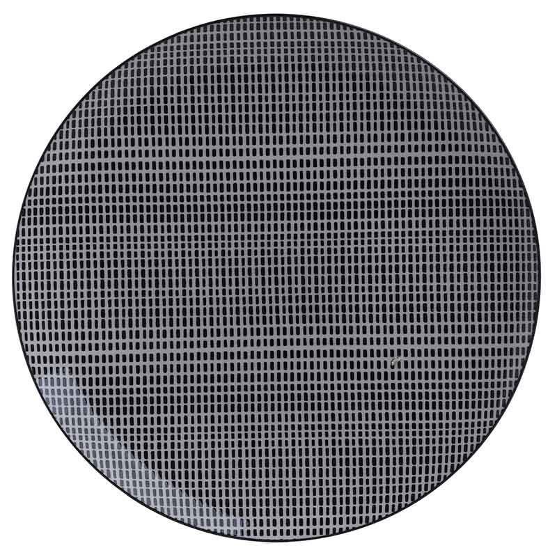 Σετ Πιάτων 12τμχ Πορσελάνης inart 27x27εκ. 3-60-508-0003 (Υλικό: Πορσελάνη, Χρώμα: Λευκό) - inart - 3-60-508-0003
