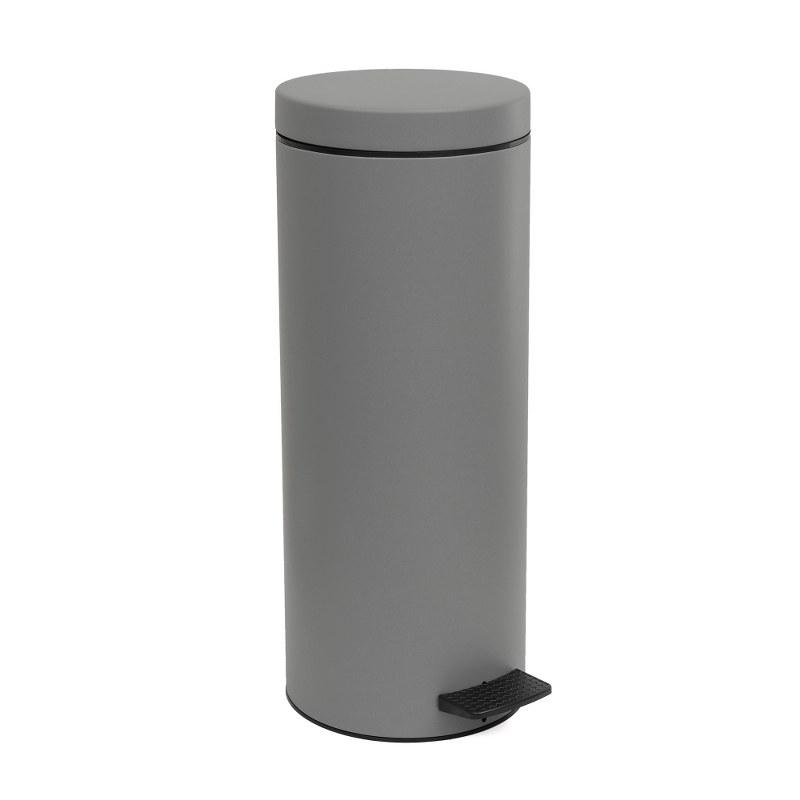 Καλάθι Απορριμμάτων 16lt Inox Pam & Co 20×53εκ. 16-2053-163 (Χρώμα: Γκρι, Υλικό: Inox) – Pam & Co – 16-2053-163