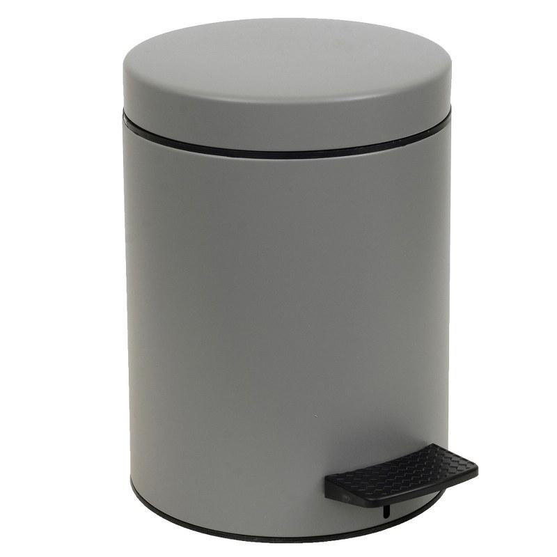 Καλάθι Απορριμμάτων 8lt Inox Pam & Co 23×32εκ. 08-500-163 (Χρώμα: Γκρι, Υλικό: Inox) – Pam & Co – 08-500-163