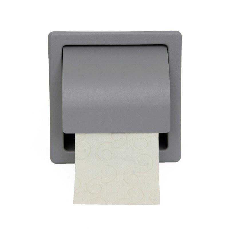 Χαρτοθήκη Με Καπάκι Inox 16x7x15,5εκ. 109-025 – Pam & Co – 109-163