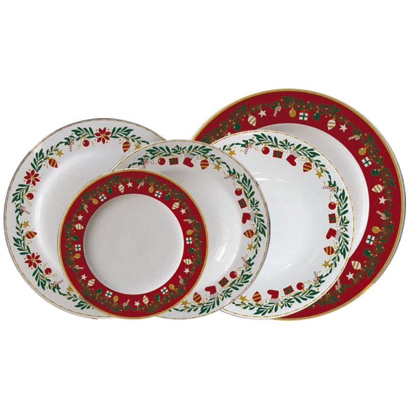 Σερβίτσιο Χριστουγεννιάτικο Πορσελάνης Bavaria 20 Τεμαχίων (Υλικό: Πορσελάνη) - AB - 6-christmas-new-20