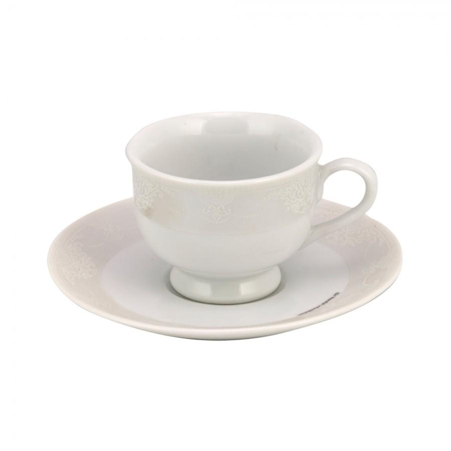 Σετ 6τμχ Φλυτζάνια Καφέ Πορσελάνης Adelle WM Collection 100ml N11613 (Υλικό: Πορσελάνη) – WM COLLECTION – N11613-coffee