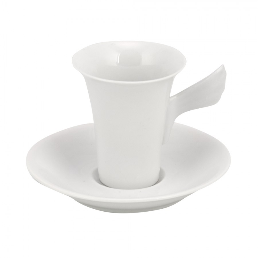 Σετ 6τμχ Φλυτζάνια Καφέ Πορσελάνης WM Collection 100ml N358/A (Υλικό: Πορσελάνη) - WM COLLECTION - N358/A