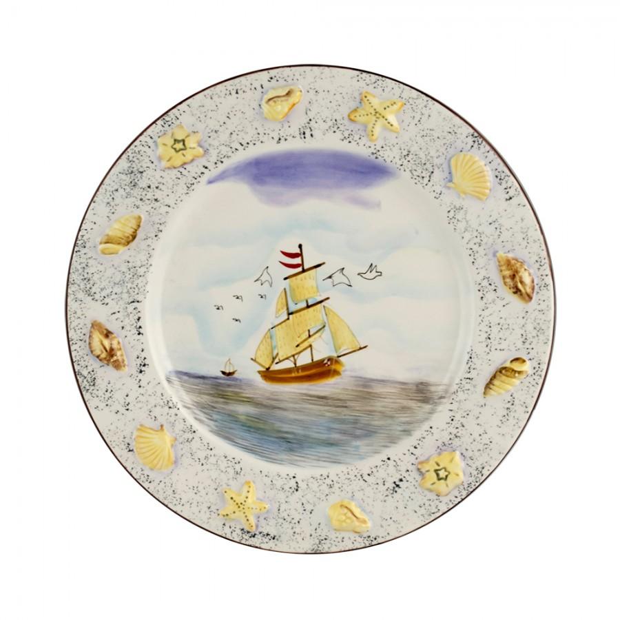 Διακοσμητικό Πιάτο Κεραμικό WM Collection 27×4εκ. N200-406 – WM COLLECTION – N200-406-piato