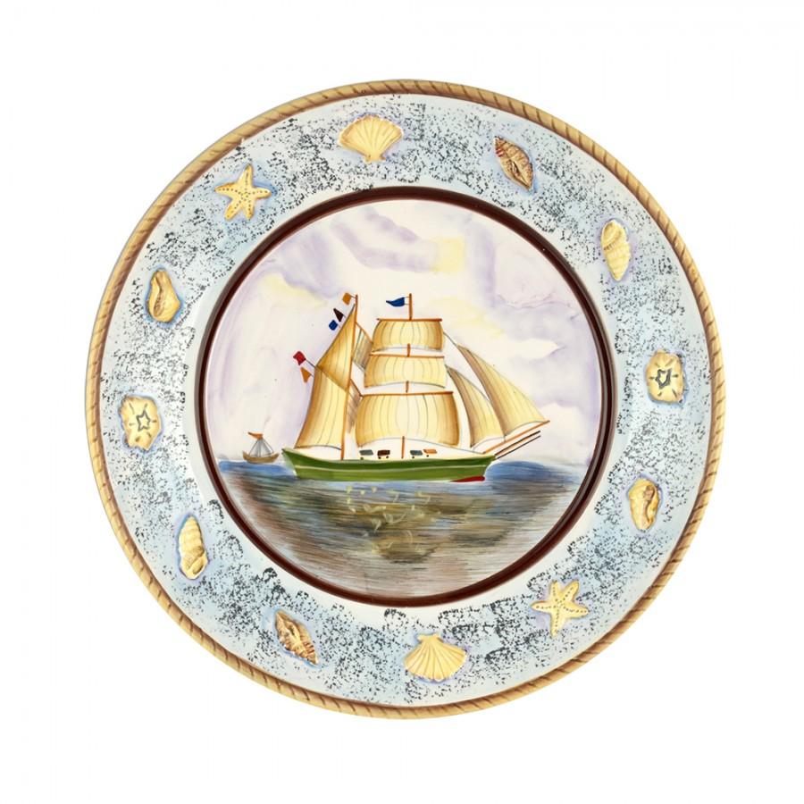 Διακοσμητικό Πιάτο Κεραμικό WM Collection 30×4εκ. N200-433 – WM COLLECTION – N200-433-piato