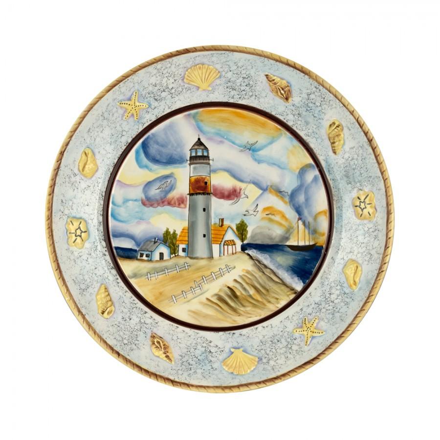 Διακοσμητικό Πιάτο Κεραμικό WM Collection 30×4εκ. N200-435 – WM COLLECTION – N200-435-piato