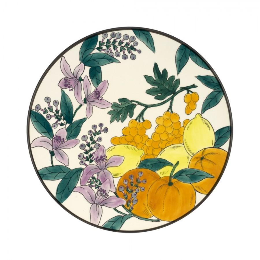 Διακοσμητικό Πιάτο Κεραμικό WM Collection Δ32εκ. Nfrouta/b – WM COLLECTION – Nfrouta/b-piato