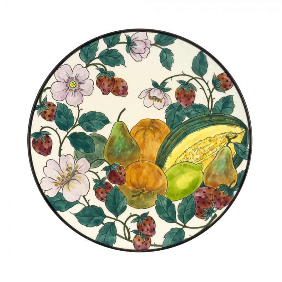 Διακοσμητικό Πιάτο Κεραμικό WM Collection Δ32εκ. Nfrouta/d – WM COLLECTION – Nfrouta/d-piato