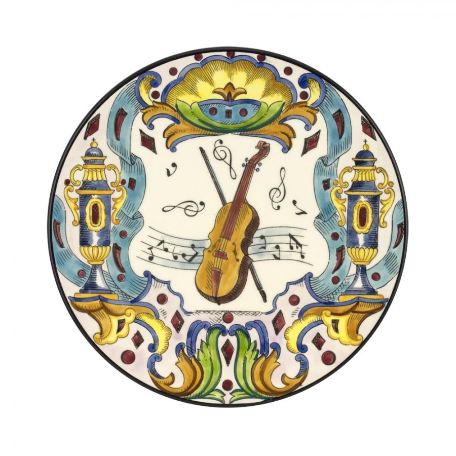 Διακοσμητικό Πιάτο Κεραμικό WM Collection Δ32εκ. NSymphonia/B – WM COLLECTION – NSymphonia/B