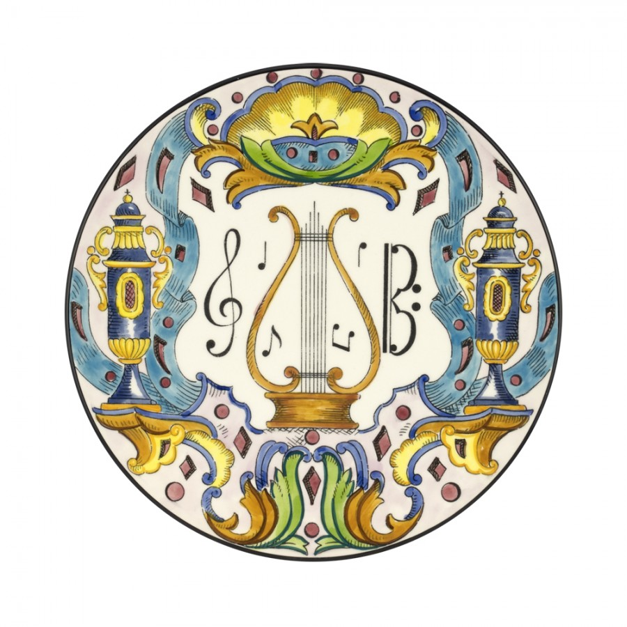 Διακοσμητικό Πιάτο Κεραμικό WM Collection Δ32εκ. NSymphonia/A – WM COLLECTION – NSymphonia/A