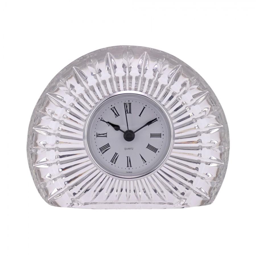Ρολόι Επιτραπέζιο Κρυστάλλινο WM Collection 14x10εκ. N78510 (Υλικό: Κρύσταλλο, Χρώμα: Διάφανο ) - WM COLLECTION - N78510