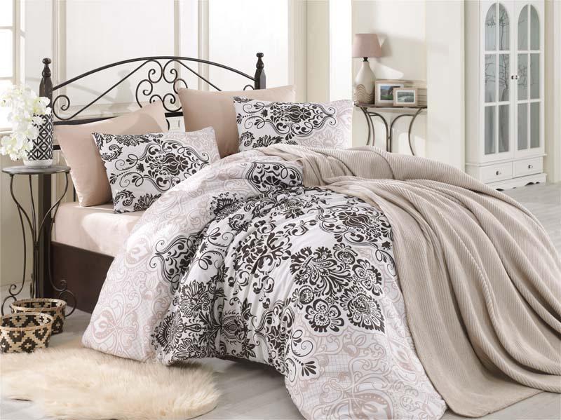 Πάπλωμα Υπέρδιπλό 220×240εκ. Palermo Brown (Ύφασμα: 50%Cotton-50%Polyester, Χρώμα: Καφέ) – KOMVOS HOME – 7007831-32