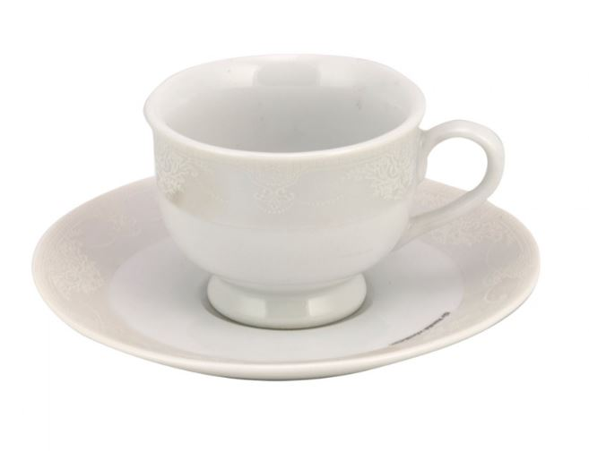 Σετ 6τμχ Φλυτζάνια Τσαγιού Πορσελάνης Adelle WM Collection 200ml N11613 (Υλικό: Πορσελάνη) – WM COLLECTION – N11613-tea