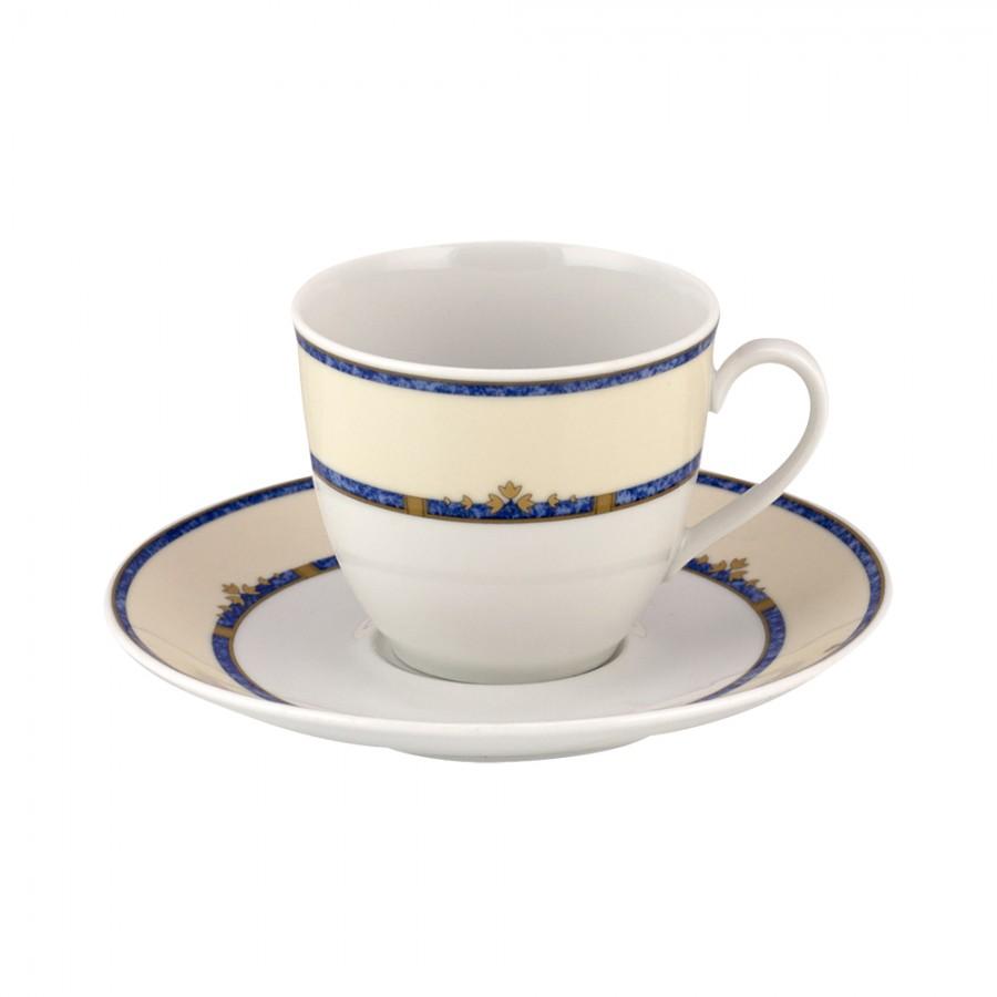 Σετ 6τμχ Φλυτζάνια Τσαγιού Πορσελάνης WM Collection 200ml N2172 (Υλικό: Πορσελάνη) - WM COLLECTION - N2172-tea