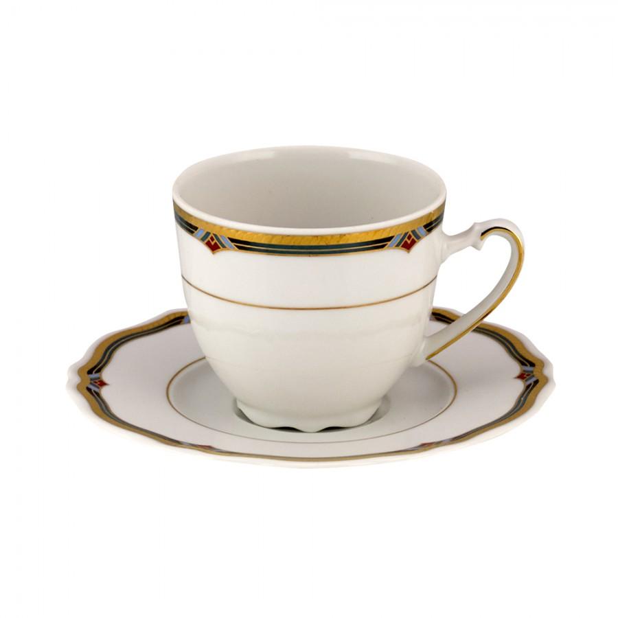 Σετ 6τμχ Φλυτζάνια Τσαγιού Πορσελάνης WM Collection 200ml N16563 (Υλικό: Πορσελάνη) - WM COLLECTION - N16563-tea