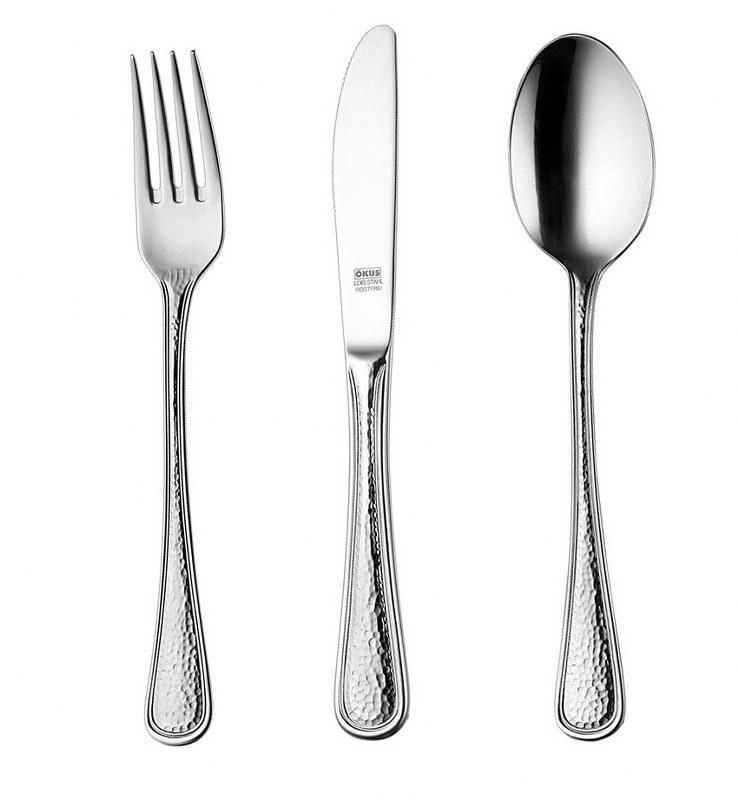 Μαχαίρι Φαγητού Ανοξείδωτο 18/10 Capri OKUS (Υλικό: Ανοξείδωτο) - OKUS - capri-tmx-big knife