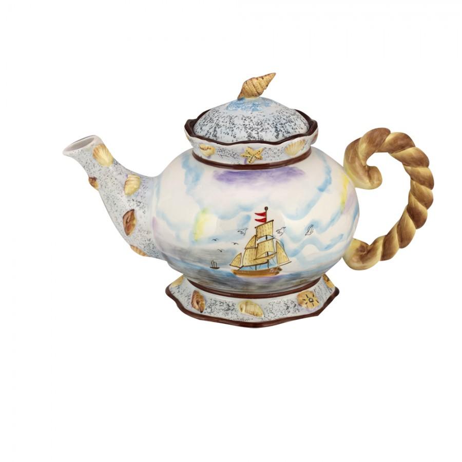 Τσαγιέρα Κεραμική WM Collection 20,5×32εκ. N200-406 (Υλικό: Κεραμικό) – WM COLLECTION – N200-406-tea