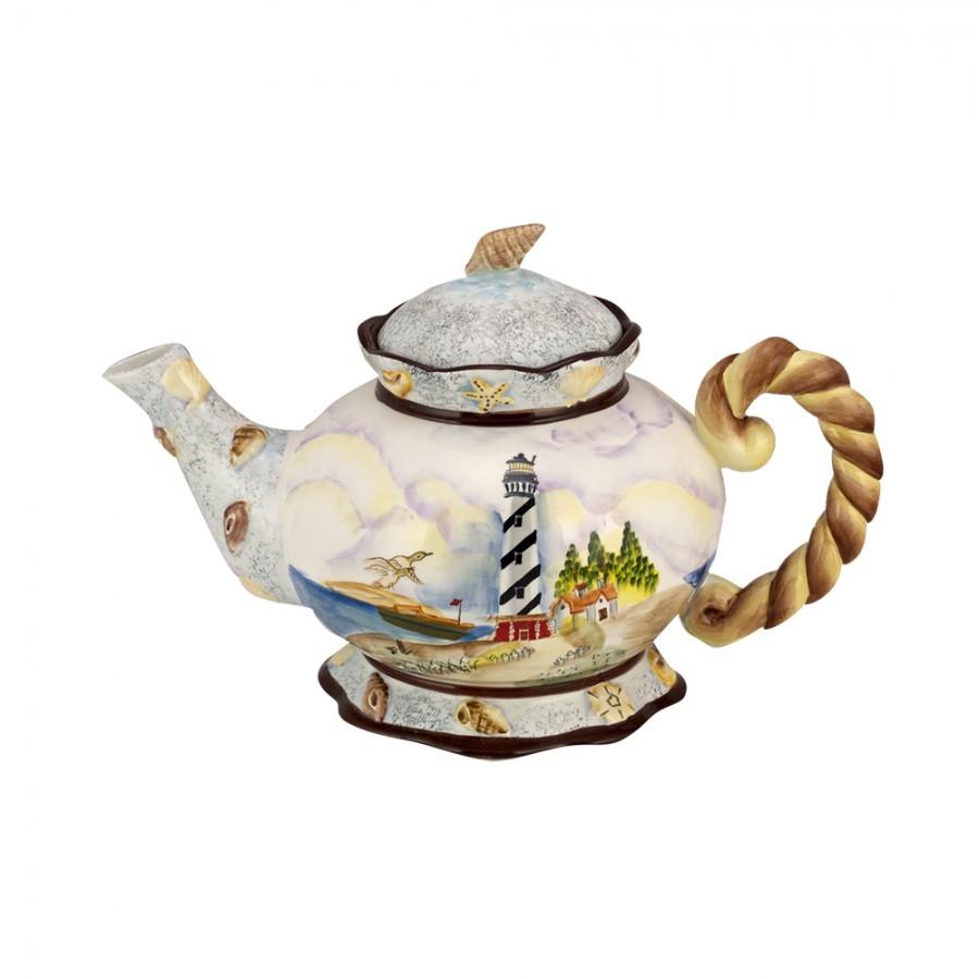 Τσαγιέρα Κεραμική WM Collection 20,5×32εκ. N200-434 (Υλικό: Κεραμικό) – WM COLLECTION – N200-434-tea